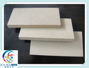 Building Material Plain MDF Medium Density Fiberboard 12mm 16mm 18mm pictures & photos
