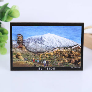 Custom Wood Fridge Magnet Souvenir 3D Landscape Wooden Fridge Magnet pictures & photos