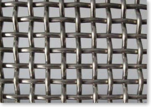Crimped Wire Mesh with Square Holes pictures & photos