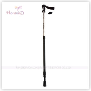 3-Section Aluminum Hiking Stick for Climbing pictures & photos