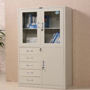 3-Door 5-Drawer Office Furniture Steel Swing Door Filing Cabinet pictures & photos