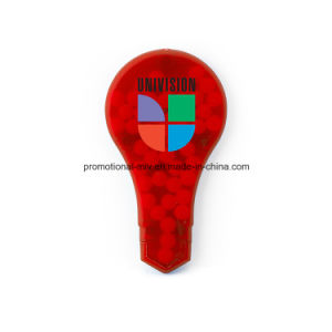 Fresh-Idea Bulbs Shaped Pill Box for Promotional Gifts pictures & photos