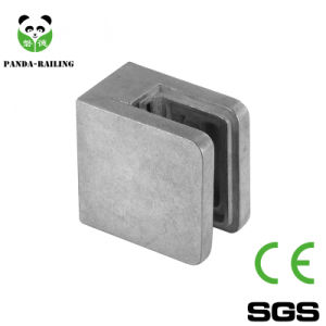 Zamak Small D Shape Glass Clamp/Glass Clip/Handrail Fittings pictures & photos