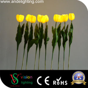 Garden Decoration PU Material LED Tulip Light pictures & photos