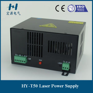 40W CO2 Laser Power Supply T50