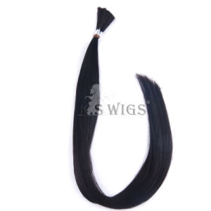 Hot Sell Indian Raw Remy Hair Bulk Hair Extension pictures & photos