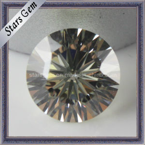 Brilliant Cut 9hearts &1flower Cubic Zirconia Gemstone for Jewelry pictures & photos