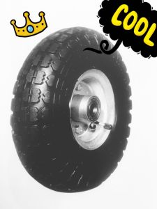 Cheap Durable 10inch 3.50-4 Rubber Wheel pictures & photos