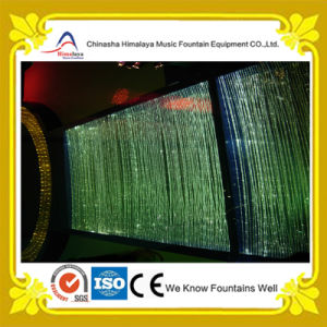 Indoor Digital Water Curtain with Multicolor LED Lights