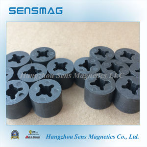 Epoxy Coated Bonded Permanent NdFeB Magnet with 4 Pole pictures & photos