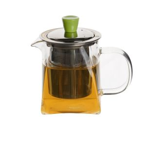 300ml Stainless Steel Heat Resistant Mini Glass Teapot pictures & photos