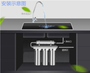 3 Stages Stainless Steel Water Purifier Combined with Magnetizer to Split and Activated The Source Water pictures & photos