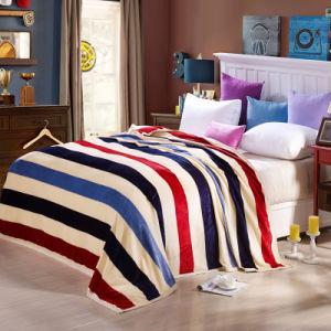 Hot Sale Super Soft Printed Flannel Blanket Coral Fleece Blanket (SR-B170318-4) pictures & photos