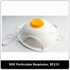 Dust Mask with Valve Respirator (8511VC) pictures & photos