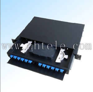 "19"" or 23"" Fiber Optic Distribution Patch Panel pictures & photos"
