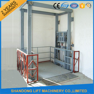 Used Home Garage Car Lift/ Guide Rail Industrial Cargo Lift pictures & photos