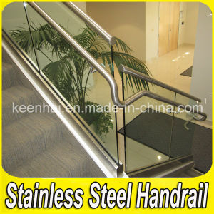Stainless Steel Glass Stair Balustrade pictures & photos