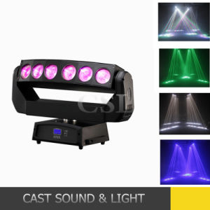 Dazzling Beam 6* 15W 4in1 LED PRO Light Moving Heads pictures & photos