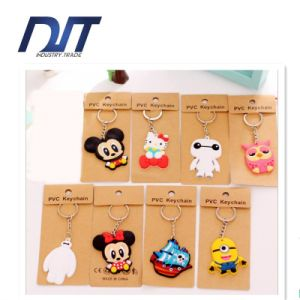 South Korea Cute Cartoon Silicone Car Keys Key Ring Pendant