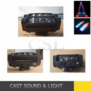 8*3W Mini Spider Beam LED Moving Head Light for Stage pictures & photos