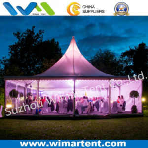 12X12m Transparent PVC Pagoda Tent for Banquet pictures & photos