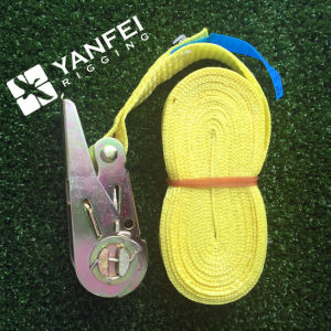 25mm Ratchet Lashing Belt pictures & photos