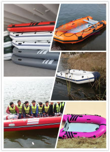 Liya 2 to 6.5m CE Certification and PVC Material Inflatable Boat Hull for Sale pictures & photos