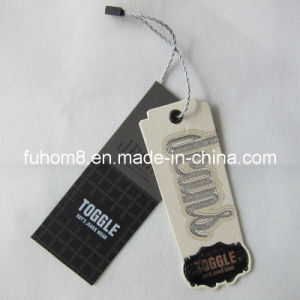 Paper Hang Tag with String for Garment pictures & photos