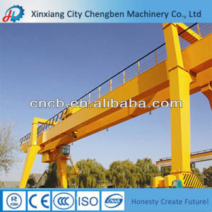 China Top Design Mobile Double Girder Goliath Gantry Crane pictures & photos