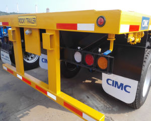 Best Quality Cimc Brand New 40FT Container Semi Trailer Flat Bed Container Semi Trailer Truck pictures & photos