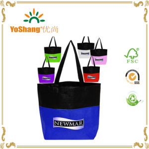 Shopping Trolley Bag Non Woven Two-Tone Bags Shopping Bags for Supermarkets pictures & photos