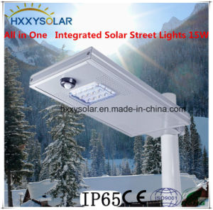 All in One Integrated Solar Street Lights 15W pictures & photos