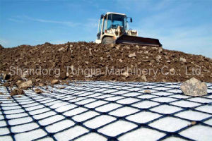 Uniaxial and Biaxial Geogrid Machine pictures & photos