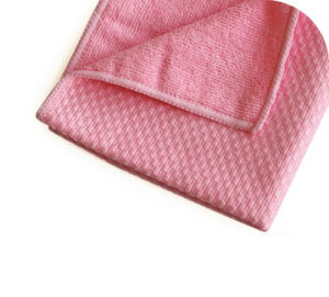 High Quality Cleaning Cloth Grided Microfiber Cloth for Multipurpose (4012) pictures & photos