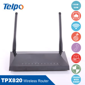 Telpo Best Price Packet Flitering VoIP Router pictures & photos