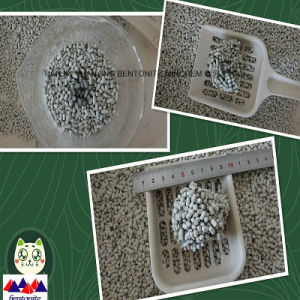 Hot New Wooden Strip Bentonite Cat Litter pictures & photos