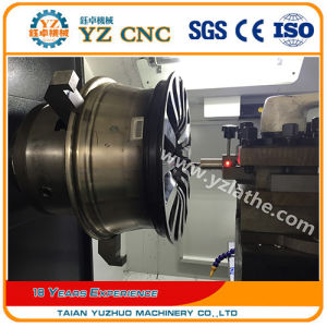 The Most Professional Manufacturers of CNC Wheel Repair Machine Lathe pictures & photos