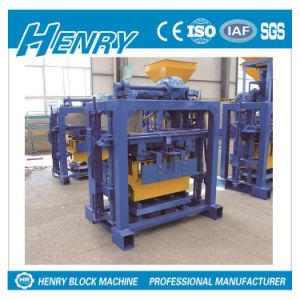Qtj40-2 Manual Concrete Block Machine Hollow Block Making Machine for Sale pictures & photos