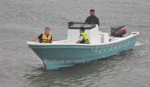 Liya Fibergalss Fishing Boat, 25ft China Panga Boats pictures & photos