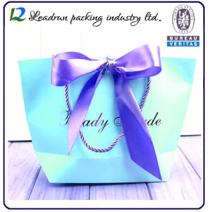 Kraft Print Paper Carrier Paper Packing Shopping Bag for Cosmetic Jewelry Cloth Suit-Dress Shoes Gifts Health Products Underwear (F60) pictures & photos