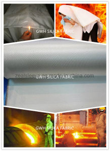 Ultra High Temperature High Silica Fiber Composite Blanket pictures & photos