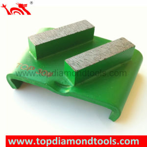 HTC System Concrete Metal Segment Grinding Diamond pictures & photos