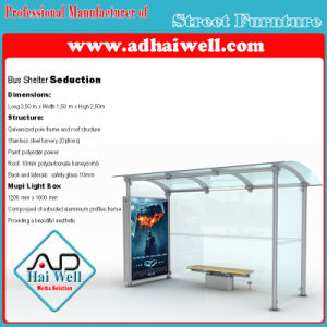 Bus Shelter Scrolling Light Box pictures & photos