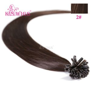 Keratin U-Tip Hair Extension Remy Human Hair pictures & photos