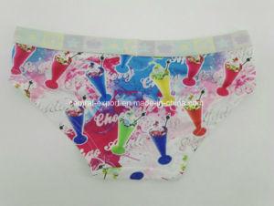 Aop Drifit Fashion Sublimation Children Underwear Girl Boxer Brief pictures & photos