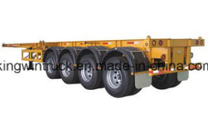 China Cimc Brand Container Semi Trailer pictures & photos