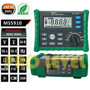 Professional RCD and Loop Tester (MS5910) pictures & photos