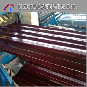 Prepainted Corrugated Steel Sheet for Roofing Use pictures & photos