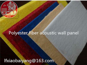 Polyester Fiber Acoustic Sound-Absorbing Panel Wall Panel Ceiling Panel Decoration Panel pictures & photos