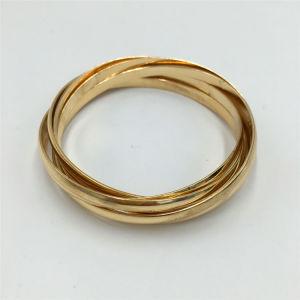 Fashion Round Alloy Bracelet Bangle Jewelry
